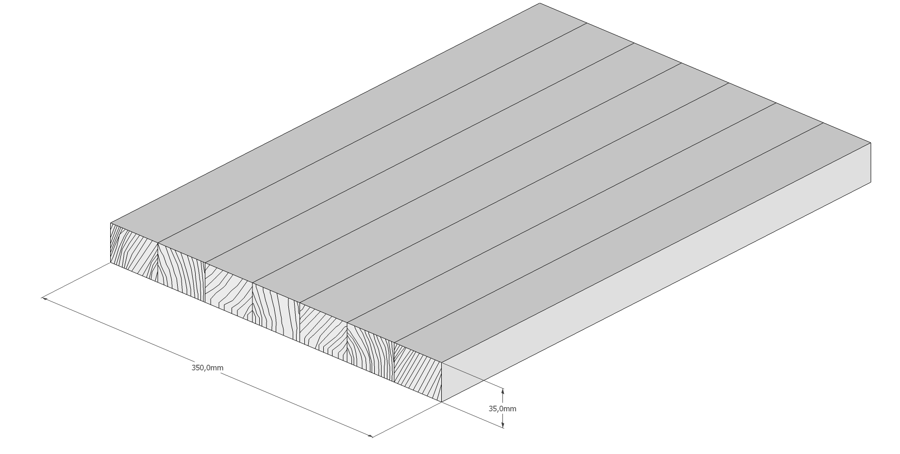 Holzschneidebrett Premium Brettevolution 1-10