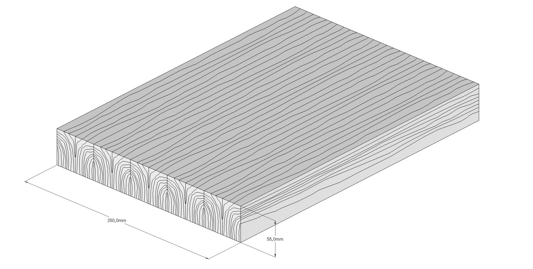 Holzschneidebrett Premium Brettevolution 1-6