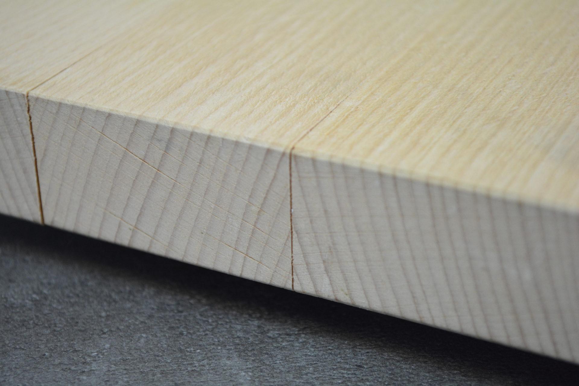 Holzschneidebrett premium offene leimfuge