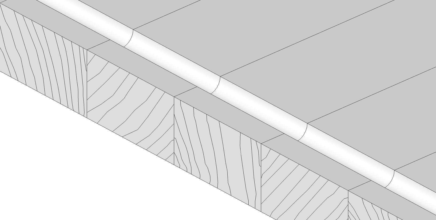 Holzschneidebrett premium Brettevolution 3cm saftrille richtiger randabstand