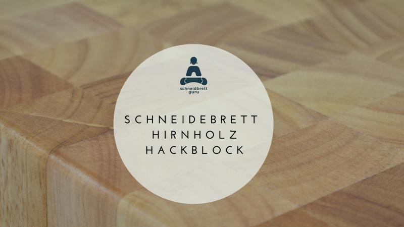 Hirnholz Schneidebrett – Hirnholzbrett – Hackblock